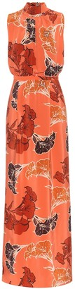 Johanna Ortiz Momentum floral silk maxi dress