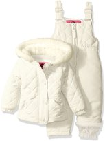 Weatherproof Baby Girls' Jacket and Snowsuit Set