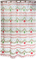 "Dena Noelle 72""x72"" Holiday Shower Curtain Bedding"