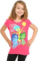 Disney Little Girls' Short Sleeve Every Day Is Full Of Emotions Tee Shirt (10/12, )