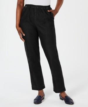 Karen Scott Short Length Pull-On Denim, Created for Macy's