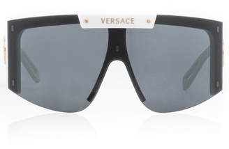 Versace Medusa Icon flat-brow sunglasses