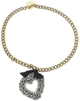 Lanvin Heart Pendant Necklace