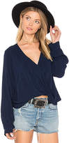 Blue Life Haley Blouse in Purple. - size S (also in )