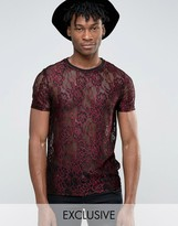 Reclaimed Vintage Lace T-Shirt