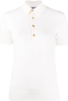Ralph Lauren Collection Short-Sleeved Cashmere Polo