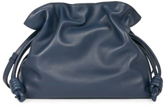 Loewe Flamenco Knot Leather Clutch
