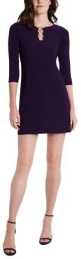 MSK Petite Embellished Shift Dress