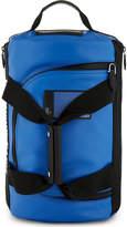 Givenchy Blue Stylish Coated Canvas Backpack