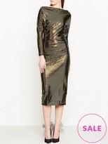 Vivienne Westwood Laminated Thigh Dress