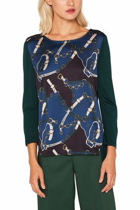 Esprit Women's 109eo1k008 Long Sleeve Top