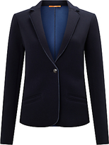 HUGO BOSS BOSS Orange Taspongi Jersey Blazer, Dark Blue