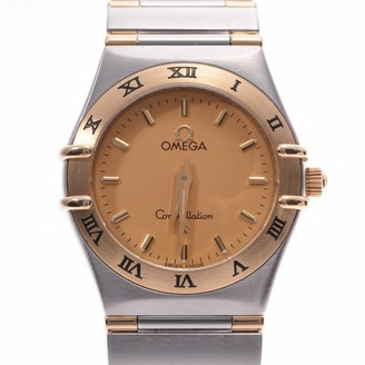 Omega Constellation Silver gold and steel Watches