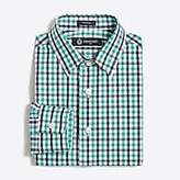 J.Crew Factory Boys' patterned Thompson point-collar dress shirt