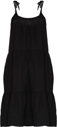 HONORINE Lucy linen slip dress