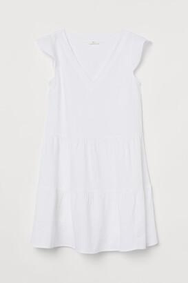 H&M Flutter-sleeved tunic