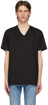 Calvin Klein Underwear Three-Pack Black V-Neck Classic-Fit T-Shirt