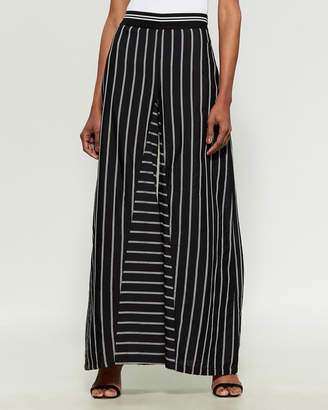Save the Queen Striped Wide Leg Pants