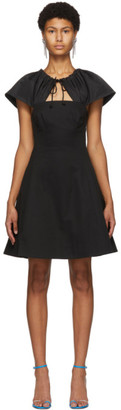 Edit Black Capelet Short Dress