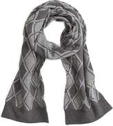 Brooks Brothers Wool Diamond Scarf