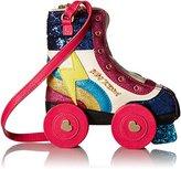 Betsey Johnson Kitsch Rollergirl Crossbody Bag