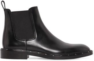 Valentino Sleek Studded Boots