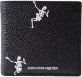 Alexander McQueen Dancing Skeleton Billfold 8 Cc Wallet