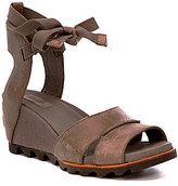 Sorel Joanie Wrap Ankle Tie Wedge Sandals
