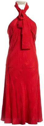 Balenciaga \N Red Silk Dresses