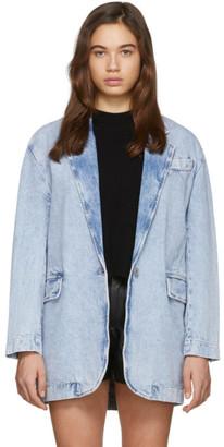 Etoile Isabel Marant Blue Holly Blazer