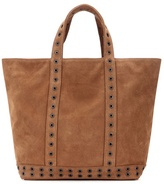 Vanessa Bruno Cabas Medium Embellished Suede Shopper