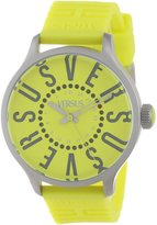 Versus By Versace Women's SGU040013 Versus City Round Stainless Steel Second Hand Date Watch