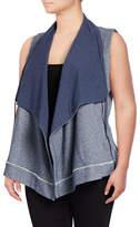 Calvin Klein Performance Plus Zip Shawl Collar Vest