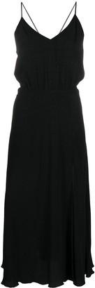 Rotate by Birger Christensen Crepe-Jacquard Slip Dress