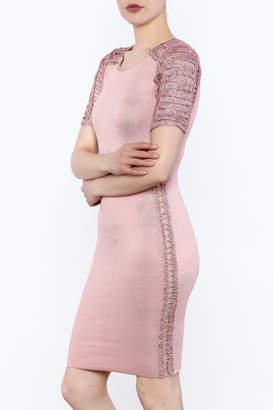 Heiress Boutique Pink Bandage Dress