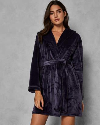 Ted Baker ZARMINA Hooded embossed dressing gown