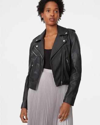 Club Monaco Gracella Leather Jacket