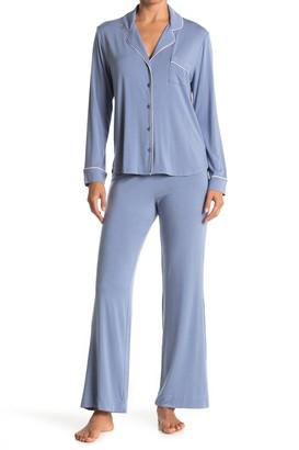 Shimera Tranquility Long Sleeve Shirt & Pants 2-Piece Pajama Set