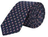 Burton Mens Navy Floral Ditsy Tie