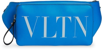 Valentino VLTN Logo Leather Belt Bag