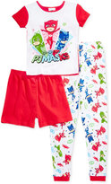 3-Pc. PJ Masks Pajama Set, Little Girls (2-6X) & Big Girls (7-16)