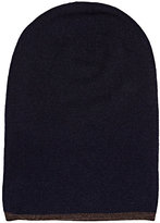 Barneys New York MEN'S REVERSIBLE WOOL-CASHMERE BEANIE