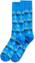 Hot Sox Men's Menorah Socks