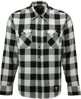 Levi's Men's New Orleans Saints Plaid Barstow Western Long-Sleeve Shirt