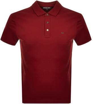 Michael Kors Sleek Polo Red
