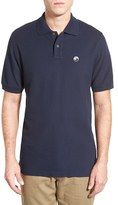 Patagonia Men's 'Fitz Roy Logo' Organic Cotton Pique Polo