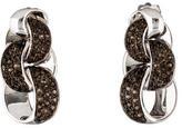 Chimento Smoky Quartz Infinity Earrings