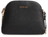 MICHAEL Michael Kors Medium Mercer Leather Messenger Bag - Blue