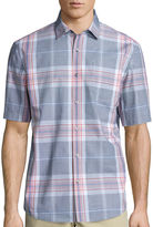 Claiborne Short-Sleeve Button-Front Shirt