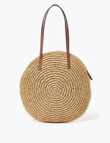 Marks and Spencer Straw Grab Tote Bag